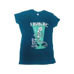 Fishbone - Stuck In Throat 2007 (blue) - T-shirt (Women)