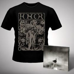 Foscor - Les Irreals Visions - CD DIGIPAK + T-shirt bundle (Men)
