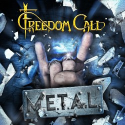 Freedom Call - M.E.T.A.L. - DOUBLE LP GATEFOLD COLOURED + CD