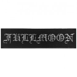 Fullmoon - Logo - EMBROIDERED PATCH
