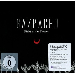 Gazpacho - Night Of The Demon - CD + DVD Digipak
