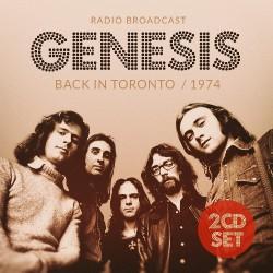 Genesis - Back In Toronto / 1974 - DOUBLE CD