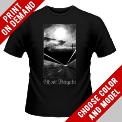 Ghost Brigade - Lost All Direction [Black] - Print on demand