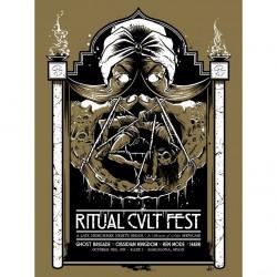 Ghost Brigade - Ritual Kvlt Grey - Poster