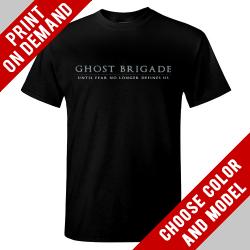 Ghost Brigade - Until Fear No Longer Defines Us - Print on demand