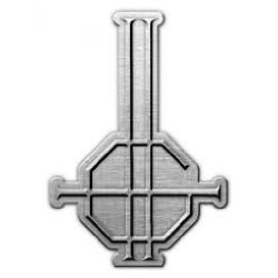 Ghost - Crucifix - METAL PIN
