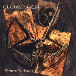 Gloomy Grim - Written In Blood - CD