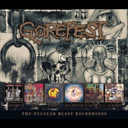 Gorefest - The Nuclear Blast Recordings - 6CD BOX
