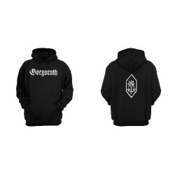 Gorgoroth - Pentagram - Hooded Sweat Shirt (Men)