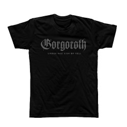 Gorgoroth - Under The Sign Of Hell (Grey Print) - T-shirt (Men)