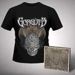 Gorguts - Bundle 1 - CD DIGIPAK + T-shirt bundle (Men)