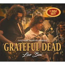 Grateful Dead - Live Box - 3CD DIGIPAK