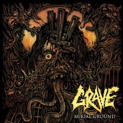 Grave - Burial Ground - LP