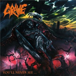 Grave - You'll Never See - CD