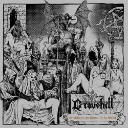 Gravehill - The Unchaste, The Profane & The Wicked - CD