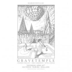 Gravetemple - Roadburn Festival - Silkscreen