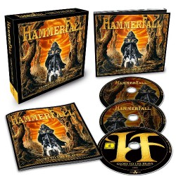 HammerFall - Glory To The Brave - 20 Year Anniversary Edition - 2CD + DVD BOX