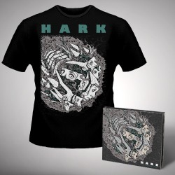 Hark - Machinations - CD DIGIPAK + T-shirt bundle (Men)