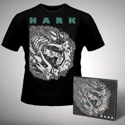 Hark - Machinations - CD DIGIPAK + T-shirt bundle (Men)
