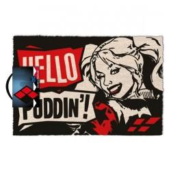 Harley Quinn - Hello Puddin' - DOORMAT