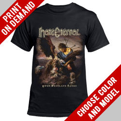 Hate Eternal - Upon Desolate Sands - Print on demand