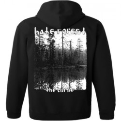 Hate Forest - The Curse - Hooded Sweat Shirt Zip (Men)