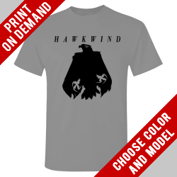 Hawkwind - Grey Eagle - Print on demand