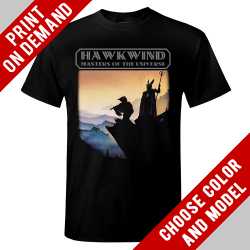 Hawkwind - Masters Of The Universe - Print on demand