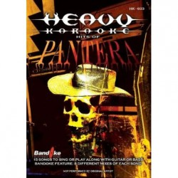 Heavy Karaoke - Hits of Pantera - DVD