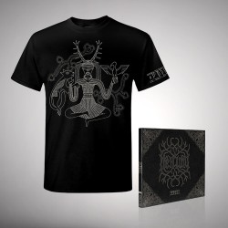 Heilung - Bundle 1 - CD DIGIPAK + T-shirt bundle (Men)