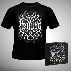 Heilung - Ofnir [Deluxe Edition] - CD BOOK + T-shirt bundle (Men)