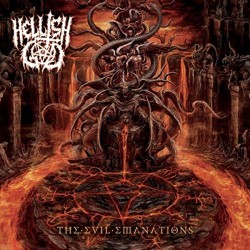 Hellish God - The Evil Emanations - LP