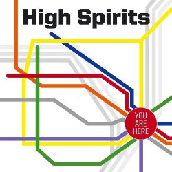 High Spirits - You Are Here - CD