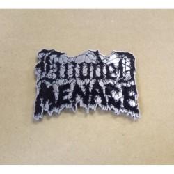 Hooded Menace - Logo - METAL PIN