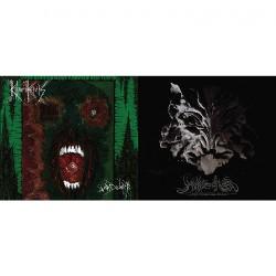 Howls Of Ebb - Khthoniik Cerviiks - With Gangrene Edges - Voiidwarp - CD DIGIFILE