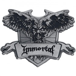 Immortal - Crest - METAL PIN