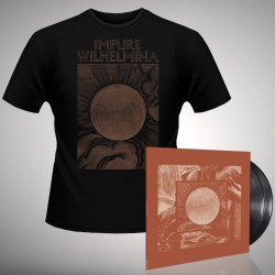 Impure Wilhelmina - Radiation - Double LP gatefold + T-shirt bundle (Men)