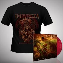 Impureza - Bundle 5 - DOUBLE LP GATEFOLD COLOURED + T-SHIRT bundle (Men)