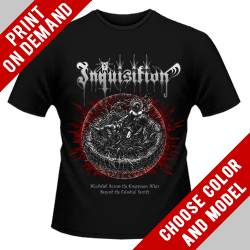 Inquisition - Bloodshed Across The Empyrean Altar Beyond The Celestial Zenith - Print on demand