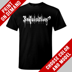 Inquisition - Bloodshed Across The Empyrean Altar Beyond The Celestial Zenith [back] - Print on demand