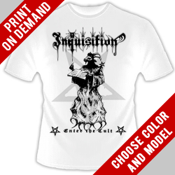 Inquisition - Enter the Cult - Print on demand