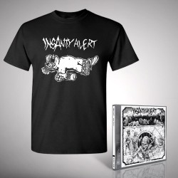 Insanity Alert - Bundle 1 - CD + T-shirt bundle (Men)