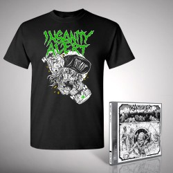 Insanity Alert - Bundle 2 - CD + T-shirt bundle (Men)