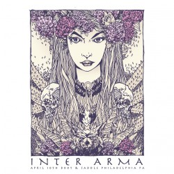 Inter Arma - Inter Arma - Screen print