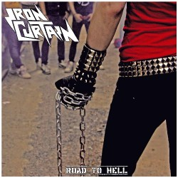Iron Curtain - Road To Hell - LP COLOURED