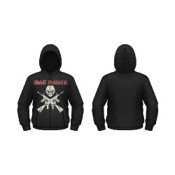 Iron Maiden - A Matter Of Life And Death - Hooded Sweat Shirt Zip (Men)