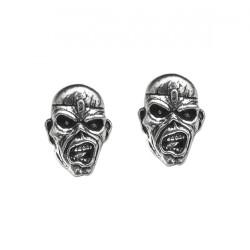 Iron Maiden - Eddie Head - STUD EARRINGS