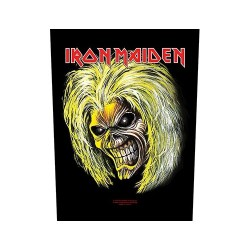 Iron Maiden - Killers / Eddie - BACKPATCH