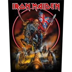 Iron Maiden - Maiden England - BACKPATCH