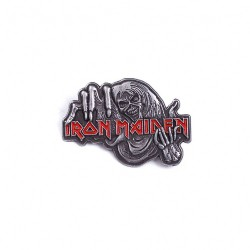Iron Maiden - Number Of The Beast - METAL PIN